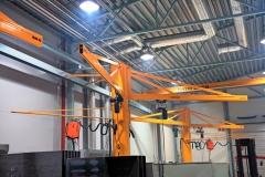 Satateräs - Kääntöpuominosturit, pylväsnosturit, seinänosturit, puominosturit, nosturit - 5 | Jib cranes