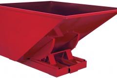 Satateräs-Satateras-Kippikontti, kippikontit, RAL3020, punainen - 1 | Tipping Containers